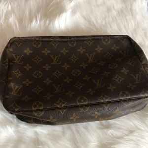 Louis Vuitton Monogram Trousse Toilette Makeup bag